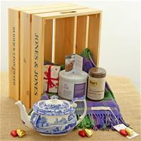 Spode Blue Italian Afternoon Tea Gift Hamper